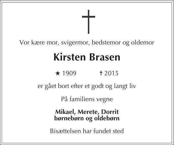 Kirsten Brasen