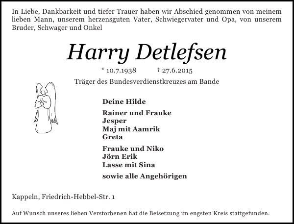 Harry Detlefsen