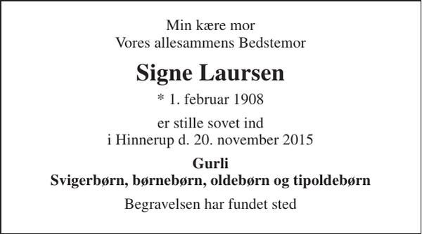 Signe Laursen