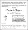 Elisabeth Wegner