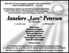 Annelore 'Lore' Petersen