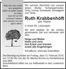 Ruth Krabbenhöft