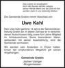 Uwe Kahl