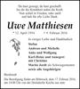 Uwe Matthiesen