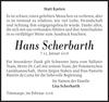 Hans Scherbarth