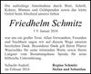 Friedhelm Schmitz