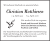 Christian Matthiesen