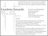 Lieselotte Sawatzki