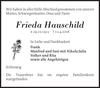 Frieda Hauschild