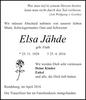 Elsa Jähde