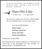 Hans-Otto Lütje