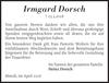 Irmgard Dorsch