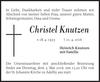 Christel Knutzen