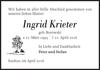 Ingrid Krieter