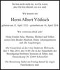 Horst Albert Vödisch