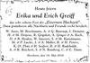 Erika und Erich Greiff