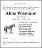 Alma Wiemann