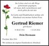 Gertrud Riemer