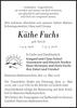 Käthe Fuchs