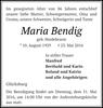 Maria Bendig