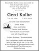 Gerd Kolbe
