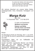 Marga Kutz