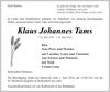 Klaus Johannes Tams