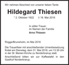 Hildegard Thiesen