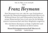 Franz Heymann