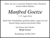 Manfred Goetze