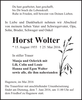 Horst Wolter