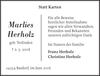 Marlies Herholz