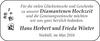 Hans Herbert und Frieda Winter
