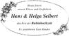Hans Helga Seibert