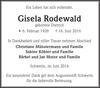 Gisela Rodewald