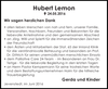 Hubert Lemon