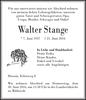 Walter Stange