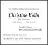 Christine Bolln