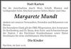 Margarete Mundt