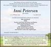 Anni Petersen geb. Jessen