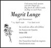 Magrit Lange