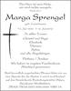 Marga Sprengel