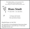 Hans Studt