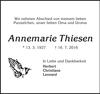 Annemarie Thiesen