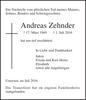 Andreas Zehnder