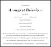 Annegret Beierlein