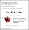Dr. Ernst Rex