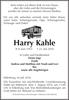 Harry Kahle
