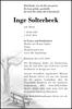 Inge Solterbeck geb. Börm