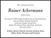 Rainer Ackermann